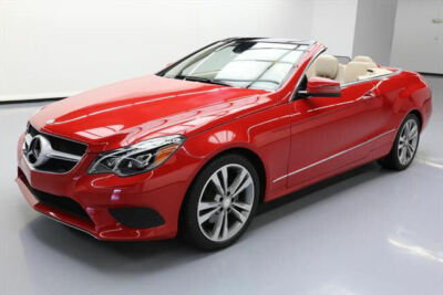 2014 Mercedes-Benz E-Class Base Convertible 2-Door 2014 MERCEDES-BENZ E350 CONVERTIBLE P1 NAV REAR CAM 47K #231579 Texas Direct400