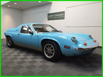 1974 Lotus Europa Special Europa Twin Cam Big Valve 1974 LOTUS EUROPA SPECIAL. TWIN-CAM, 5-SPEED. INVESTMENT/COLLECTOR GRADE.400