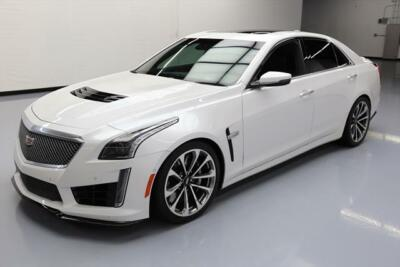 2016 Cadillac CTS V Sedan 4-Door 2016 CADILLAC CTS-V LUXURY 640 HP PANO SUNROOF NAV 21K #100354 Texas Direct Auto400