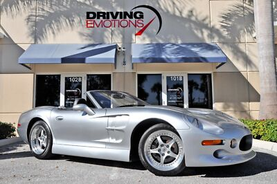 1999 Shelby Series1 Roadster Convertible 2-Door 1999 SHELBY SERIES 1 ROADSTER! SILVER/BLACK! LOW MILES! RARE! COLLECTOR! 6-SPD!!400