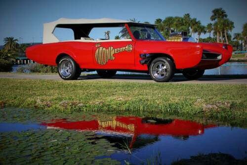 Monkeemobile Tribute Car by Dean Jeffries 45th Anniv Tour, Signed by 3 Monkeeys