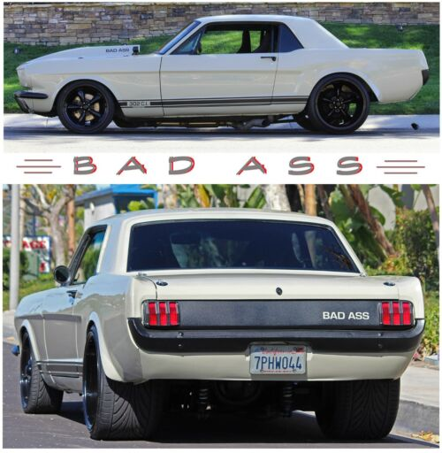 1965 MUSTANG RESTOMOD SHOW CAR BAD TO THE BONE