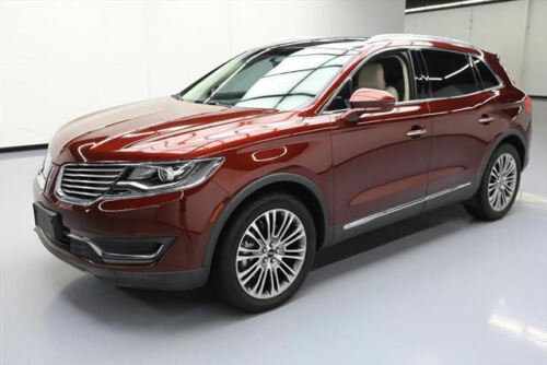 2016 LINCOLN MKX RESERVE PANO NAV CLIMATE LEATHER 26K #L44764 Texas Direct Auto
