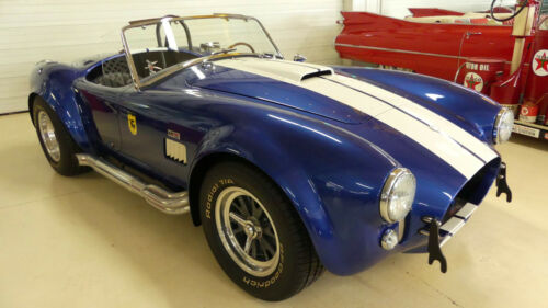 1965 Shelby Cobra  5905 Miles Blue 2 DR Convertible 351 Windsor Manual 5-Speed