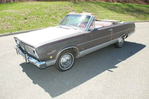 1966 Plymouth Valiant SIGNET 103000 Miles Gray Convertible V8 2.7L Automatic