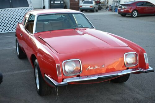 1971 Studebaker Avanti, Rock Stars Project Car 350 V8  Lots of parts included