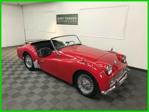 1960 TRIUMPH TR3A SPORTS ROADSTER. UPGRADED 2.2 LITER ENGINE. NICE DRIVING CAR.