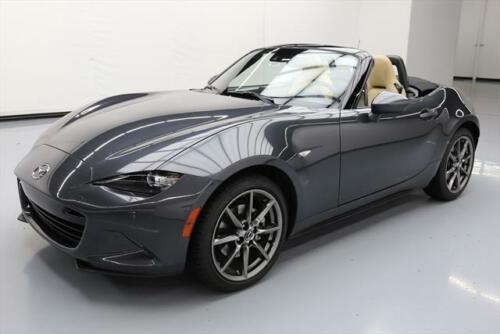 2016 MAZDA MX-5 MIATA GRAND TOURING ROADSTER NAV 18K MI #110806 Texas Direct