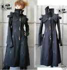 Unisex Gothic Punk Cosplay long Jacket Blazers y209