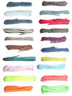 60cm Thin Round Shoe Laces – choice of colours