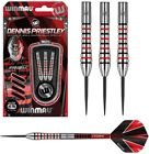 "Dennis ""The Menace"" Priestley 90% Tungsten Steel Tip Darts by Winmau"