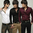New Mens Fashion Casual Slim Fit Stylish Dress Shirts ZC6029