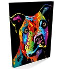 Staffordshire Bull Terrier Pop Art, CANVAS A3-A1 -v120
