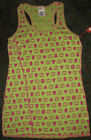 NEW PAUL FRANK Adorable Julius HeartsFlowers TANK TOP M