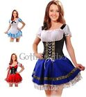 Sexy Blue Dutch Beer Girl Adult COSTUME Party  XS-6XL A017