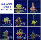 NICKELODEON SPONGEBOB v2 MINI FIGURE KEYCHAIN BACKPACK ZIPPER PULL YOU PICK