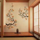 Cherry Blossom Wall Decal Living Room Bedroom Flower Removable Vinyl Sticker
