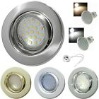 1 >10er Sets SMD Decken Einbaustrahler Tomas 230Volt LED Downlights 3W Power LED
