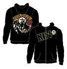 NEW Licensed Kiss Hotter then Hell Band Rock Full Zip Hoodie Hoody S M L XL 2X