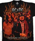 NEW Licensed AC/DC Hell Ride Flame Premium Rock Live Band T Shirt S M L XL 2X
