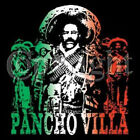 PANCHO VILLA T-SHIRT GREEN WHITE RED  T-SHIRT ALL SIZES & COLORS (444)