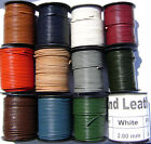 Genuine Natural Leather Cord Goat Necklace Bracelet Lace 2mm Round 25 Yard Spool