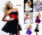 New Mini/Short Cocktail Party Evening Prom Dress Ball Gown Size 6 8 10 12 14 16