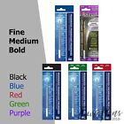 Fisher Space Ball pen Refill x1 ALL COLOURS