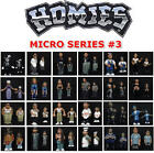 NEW RETIRED RARE SERIES 3 HOMIES MICRO FIGURES COMPLETE SET OR YOU PICK ONE!