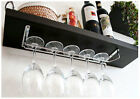 Wine Glass Wall  Rack Holders Hanger / Chrome-plated  12