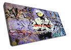 2358 Grafitti Canvas Banksy Street Modern Wall Art Print