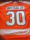 BRYZGALOV 30 PHILADELPHIA FLYERS REEBOK JERSEY W AUTHENTIC STITCHING