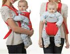 Front & Back Baby Carrier Backpack Sling wine red and blue and orange