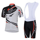 2012 Cycling Bicycle Comfortable Jersey + bib Shorts size S - XL For Women
