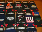 NEW NFL Set of 2 Team 12 oz. Can Coolers - ALL 32 NFL TEAMS AVAILABLE!! Koozies