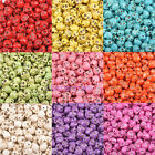 30/60/150pcs Turquoise Skull Head Spacer Beads Nice 15 Colors 0186BZ 14x11mm