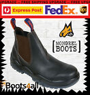 NEW Mongrel Work Boots Brown Leather Non Steel Toe 916030 ON SALE