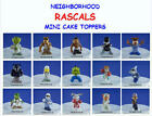 NEW RETIRED NEIGHBORHOOD RASCALS MINI FIGURE CUP CAKE TOPPER FAVORS YOU PICK ONE