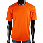 Mens Coolon fabric Fast Drying roundneck solid Casual t-shirt(TP_002)_Orange