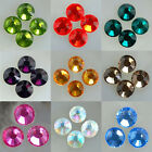 SS30(6mm) High Quality Iron crystal on Flatback Hot fix Rhinestones Multi-Colore