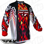 Fly Racing Motocross Enduro Quad Cross MX MTB BMX NEU Jersey Kinetic 2012 NEW
