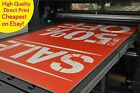 Correx Sign Boards / Printed  Full Colour / 4mm Site boards / Cheap Signs /