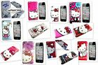 Hello Kitty iPod Touch 4th Gen Case Glossy Hard Cover Choice Of Pink Red White