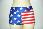 Hotpants US Stars & Stripes Adults X/S - Large Pole Dancing, Roller Derby Shorts