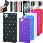 Luxury Bling Diamond Silicone Skin Rubber Case Cover For New Apple iPhone 5, 5G