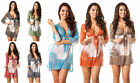 COQUETA BEACH COVER UP SHEER  Mini Dress SARONG BIKINI  MANY COLORS ON SALE!