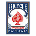 Bicycle Playing Cards 809 Mandolin Back Poker Size Choice Of  Colours