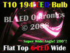 Universal Pink LED Parker Xenon HID Cool Lights Bulbs T10 194 168 Wedge