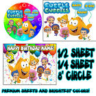 BUBBLE GUPPIES  Sugar Edible Birthday CAKE topper image FROSTING SHEET icing 1st