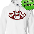 Custom Brass Knuckles HOODIE Personalized Sweatshirt Dusters  All Sizes & Colors